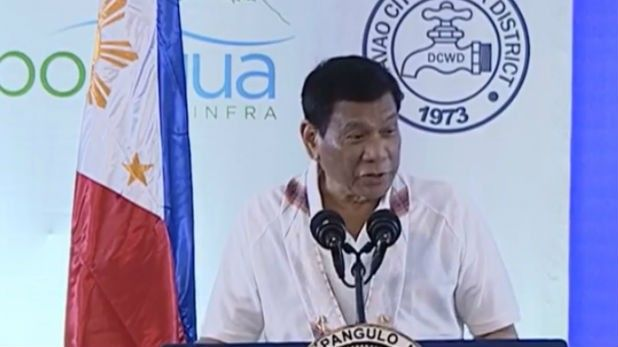 Duterte explains skin color anew: 'As you grow old, your skin really darkens'