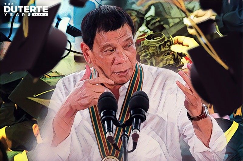 Duterte Year 2: Philippines moves closer to free college