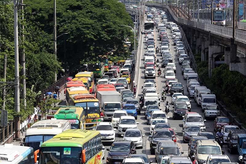 Single passenger ban edsa