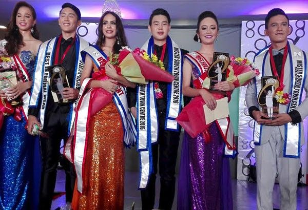CEC, USJ-R bets win Mr. & Miss South Town Centre