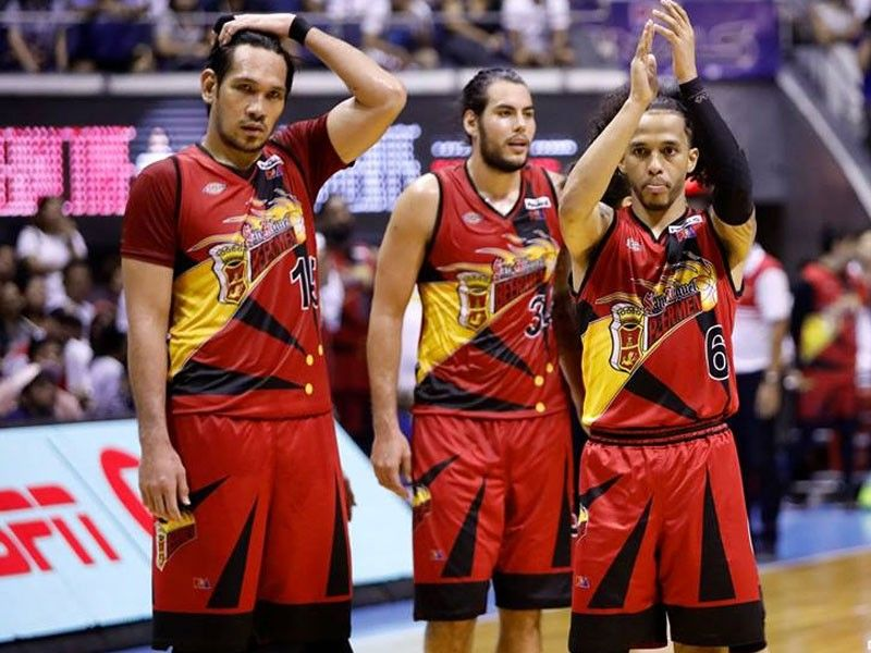 4758a21065c The San Miguel Beermen came back with a vengeance in Game 2 of the PBA  Finals.