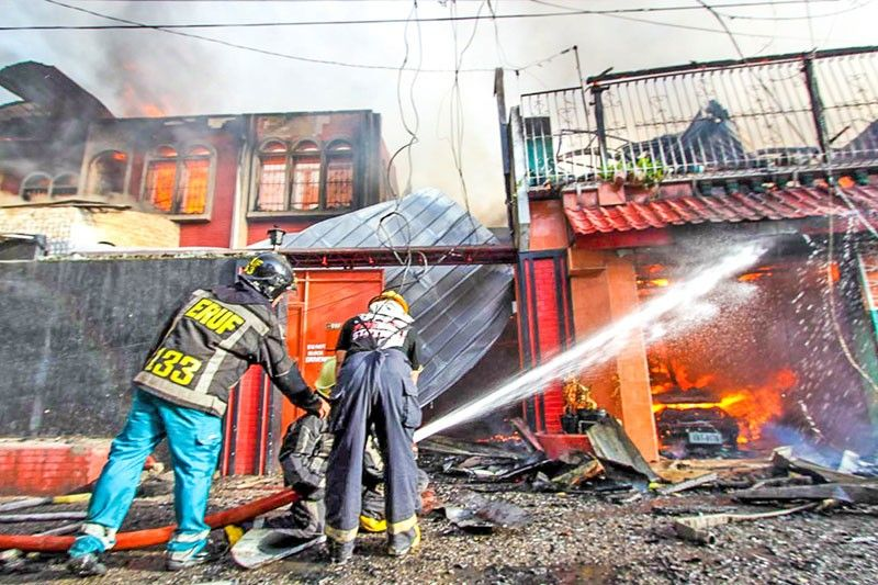 Kerwin, Barangay captain lose home Fire razes 115 houses | The Freeman