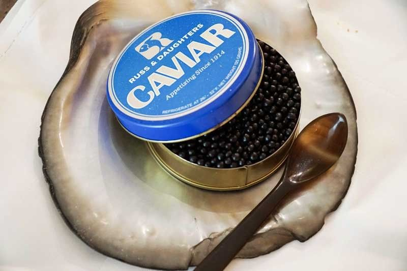 Skin Caviar inspires a lunch by Gaita Fores