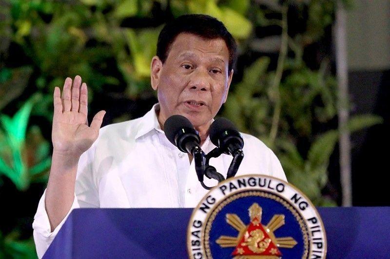 Duterte cites presidential prerogative on amnesty