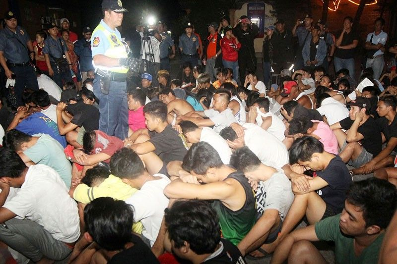 Minors to be included in �anti-tambay� drive