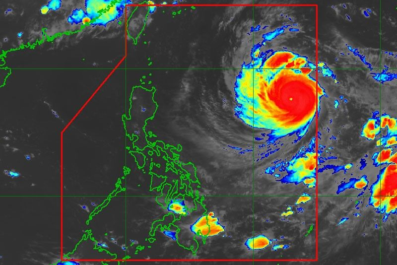 Typhoon Paeng enters Philippines, may affect Northern Luzon