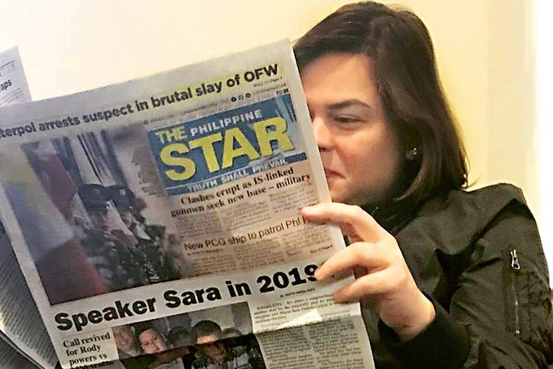 Speaker clams up on feud with Sara