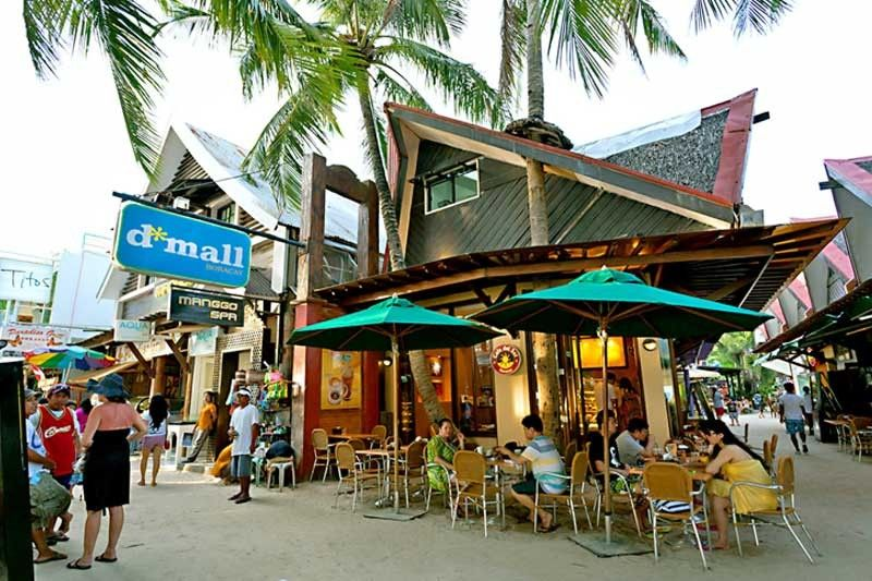 Image result for photo chinese shops boracay