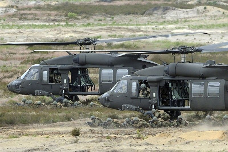 PAF buying US Black Hawks, not Russian helicopters