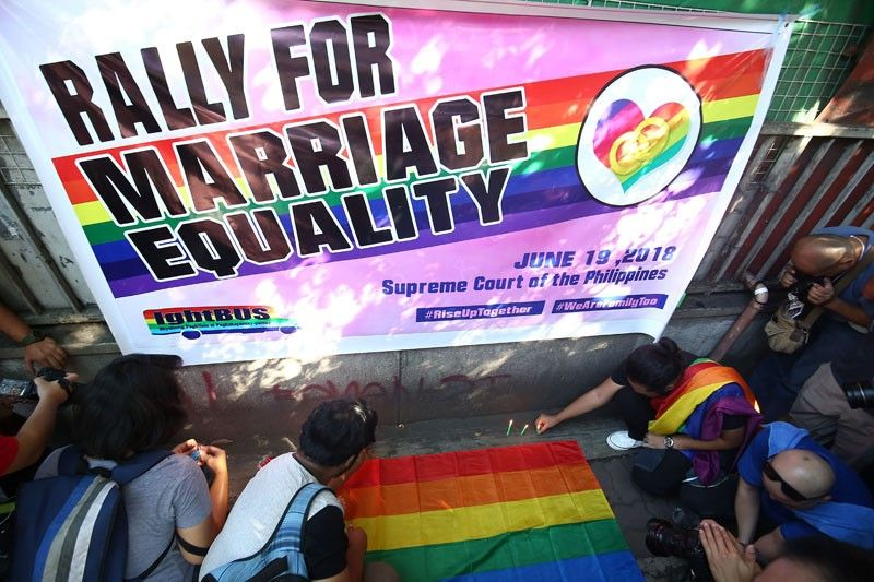 Duterte opposes same-sex marriage, favors civil union