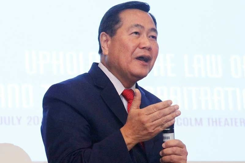 Speaking before members of the Association of Congressional Chiefs of Staff in the House of Representatives, Acting Chief Justice Antonio Carpio discussed that the Philippines first named the Spratly Islands, as well as the Scarborough Shoal, as early as 1734.