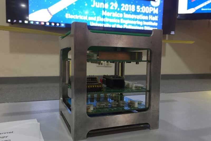 Maya-1, the second Filipino-made satellite launched after Diwata-1 in 2016, was transported to the International Space Station (ISS) by a rocket launched in Cape Canaveral, Florida at 5:41 p.m. (Philippine time).