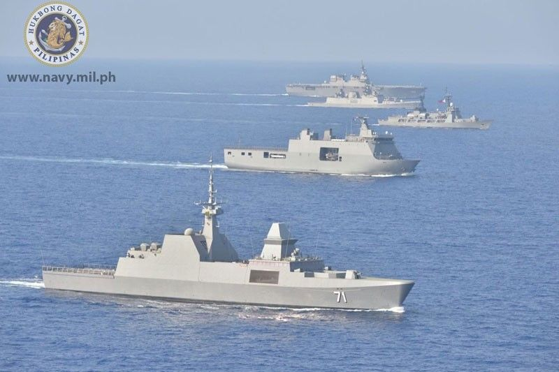 2 Philippine Navy Ships In Hawaii For Rimpac Exercises Philstarcom