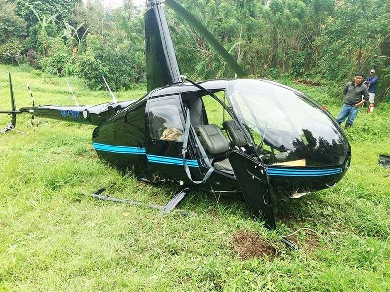 4 hurt in South Cotabato helicopter crash | Philstar com