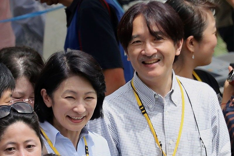 Japanese royal couple on first official US visit