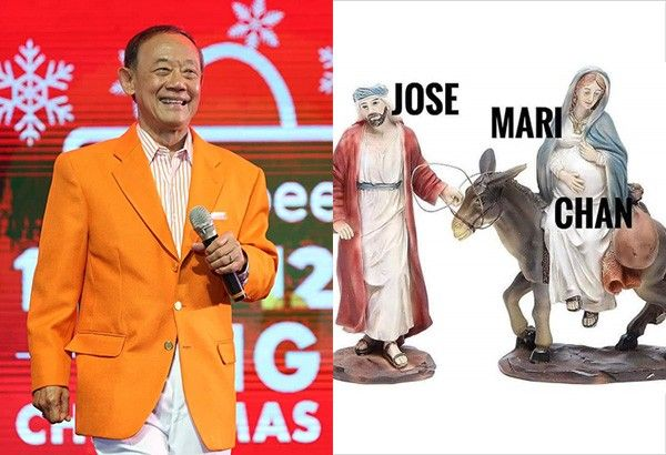 Christmas Memes Philippines.Jose Mari Chan Reacts To His Trending Memes Philstar Com