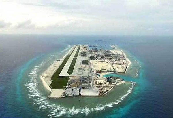 Lorenzana: Philippines to protest China airbase on Fiery Cross Reef