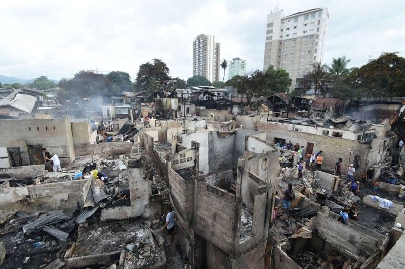 After saturday's fire: Reblocking eyed in Barangay Kamputhaw | The