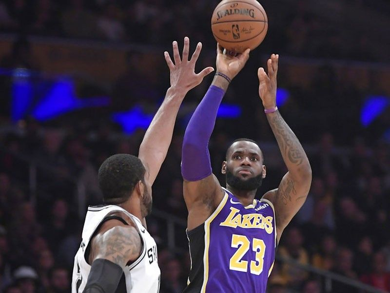 Tip-ins. Spurs  Longtime Lakers ... 861d31547fc2