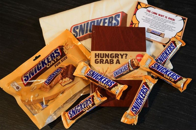 survive the long wait with snickers oats philstar com