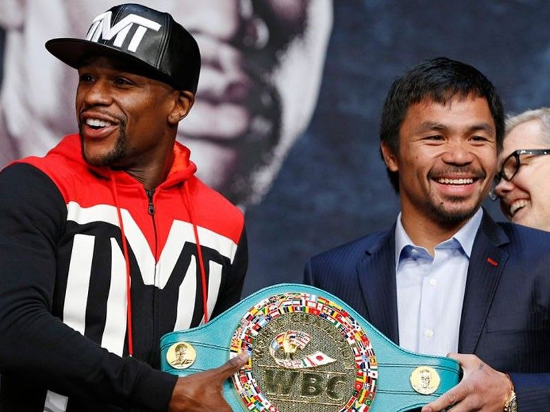 mayweather open to promote pacquiao philstar com