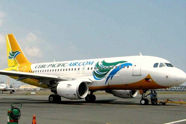 Cebu Pacific plane stalls at Zamboanga airport