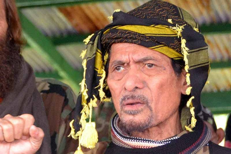 Misuari vows to help government in anti-terrorism efforts