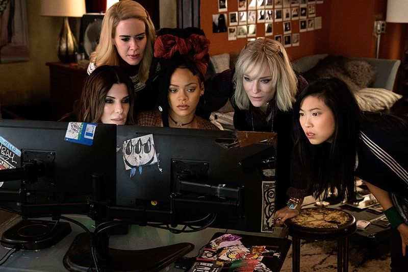 'Ocean's 8' opens with franchise-best $41.5M to top weekend