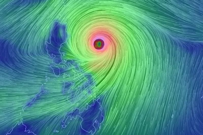 10 areas under Signal No. 3 as �Ompong� draws closer to Luzon