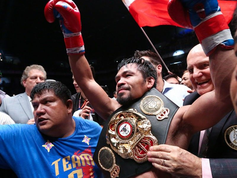 Pacquiao to sue Top Rank over unpaid broadcast fees for Matthysse fight