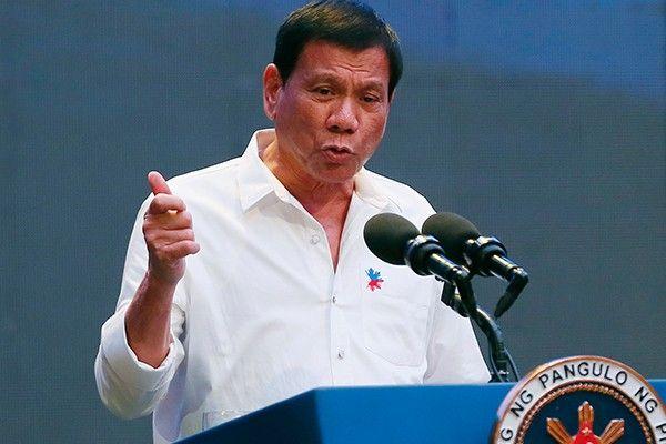 Duterte won't bargain Philippine territory with China