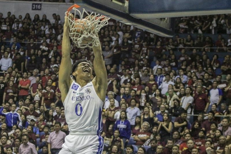 Ateneo's Thirdy Ravena named best of UAAP Finals