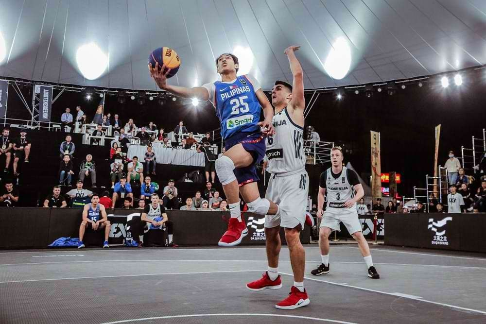 Rivero-led Team Philippines falls to heavyweight foes in 3x3 U-23 Worlds