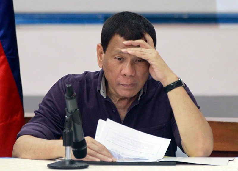 Shame on you: Duterte fires more execs; labor usec out