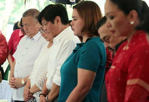 Palace: Duterte won't run with Bongbong for transition gov't