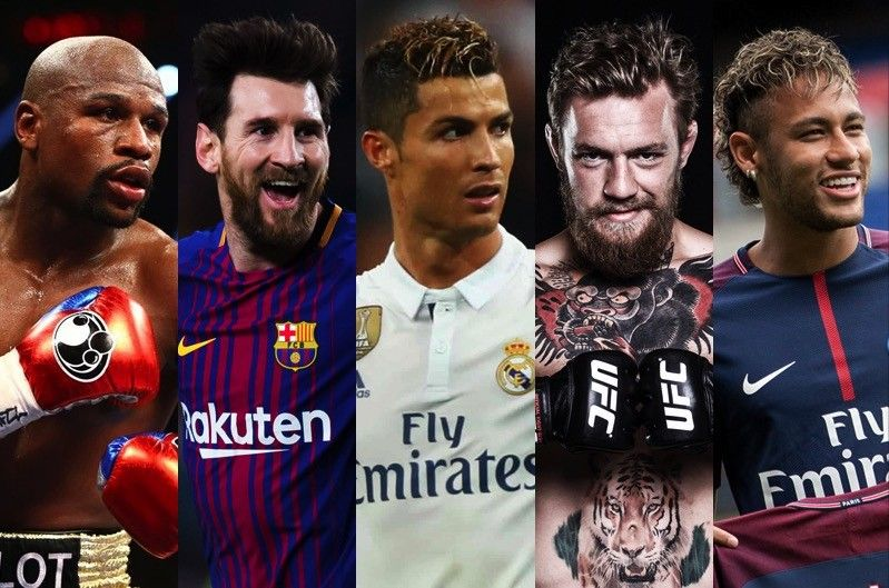 LOOK: Top 10 highest-paid athletes in 2017 | Philstar com
