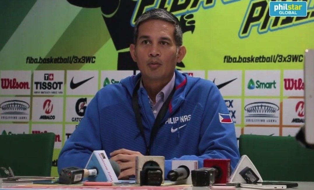 Samahang Basketbol ng Pilipinas president Al Panlilio