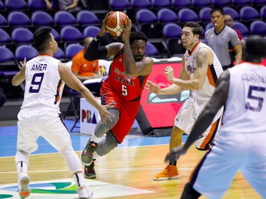 Blackwater upends Meralco for share of Govs' Cup lead