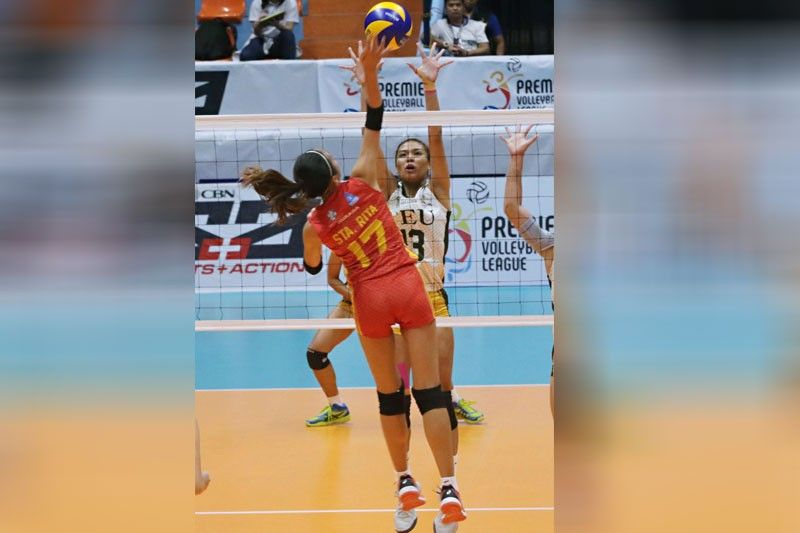 Lady Tams blast stags,  Wrest PVL solo lead
