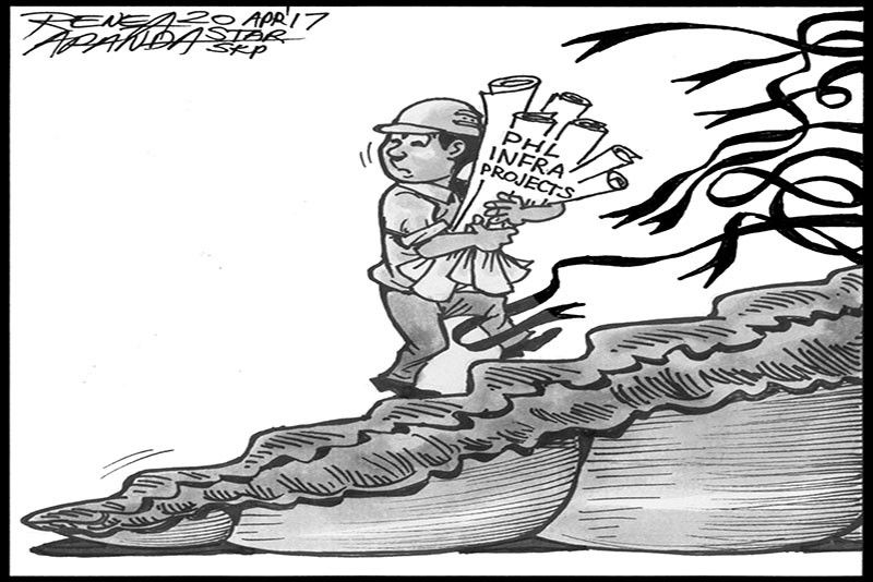 EDITORIAL - �Golden age of infrastructure�