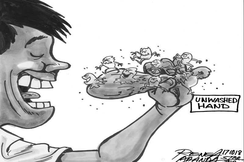 EDITORIAL - Clean hands � a recipe for health