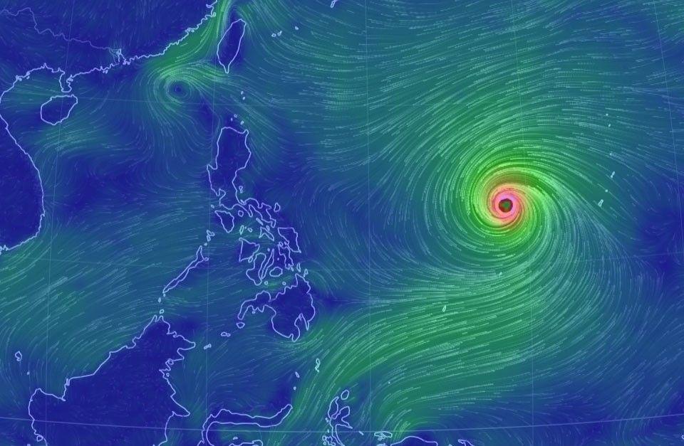 Super typhoon Mangkhut accelerates, enters PAR Wednesday