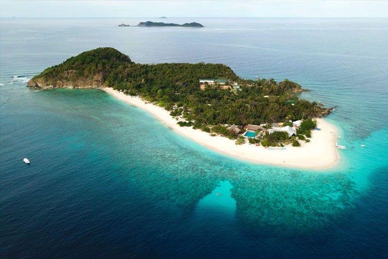 Aerial view of Club Paradise