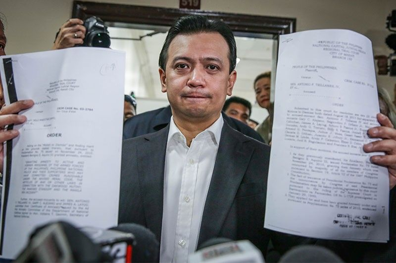 Trillanes amnesty: Two courts and two rulings that may meet at SC