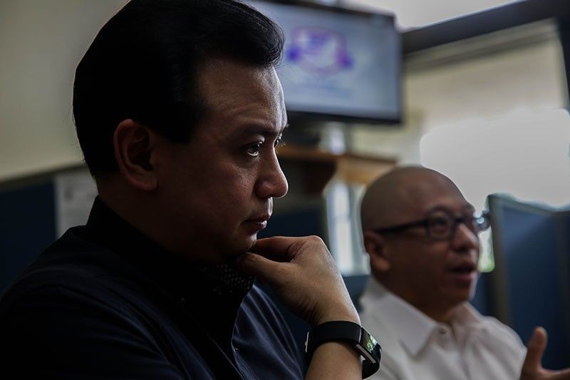 A duel of documents: DOJ, Trillanes cite different rulings