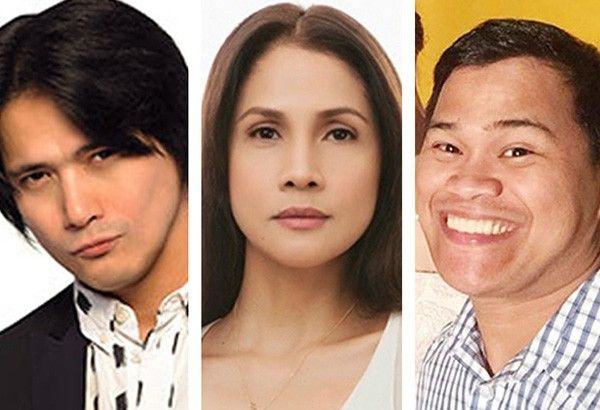 From left: Robin Padilla, Agot Isidro and Ogie Diaz