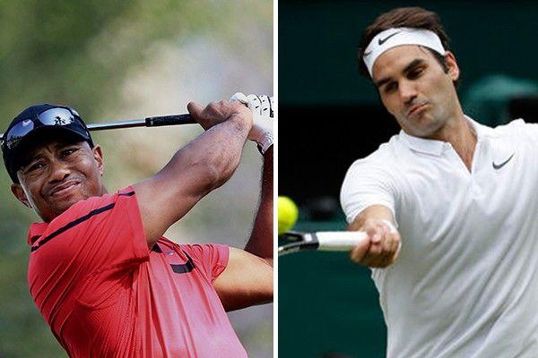 Tiger Woods looking to Roger Federer for inspiration