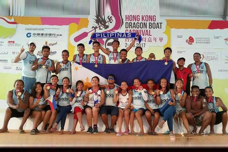 Cebu�s PADS wins historic gold in Hong Kong Dragon Boat tilt