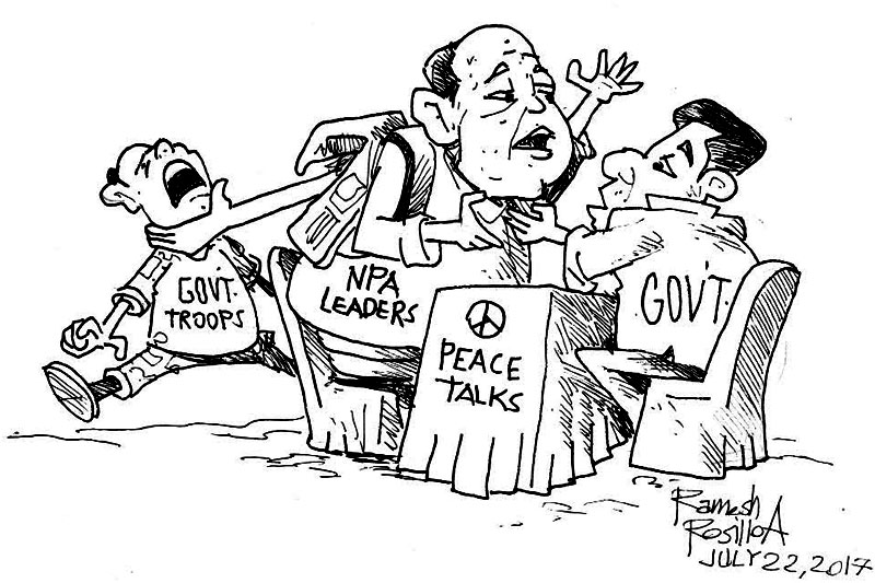 EDITORIAL - Futile to keep talking with communists