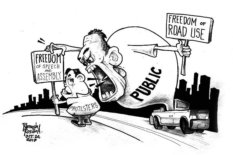 Editorial Protesters Cant Resort To Anarchy With Impunity The